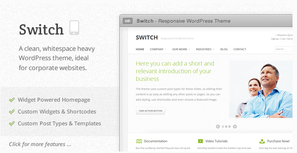 Switch - Responsive WordPress Theme