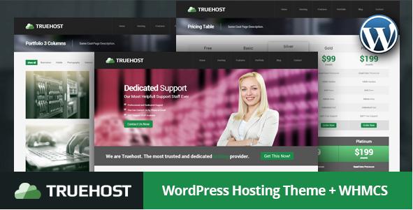 Truehost - WordPress Hosting Theme
