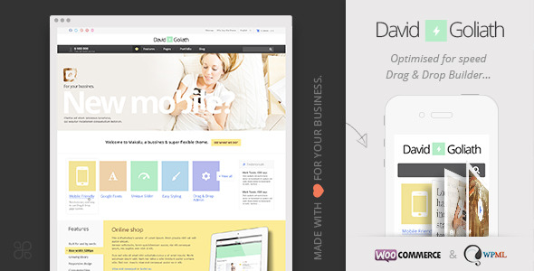 David & Goliath - Responsive Business Portfolio Theme