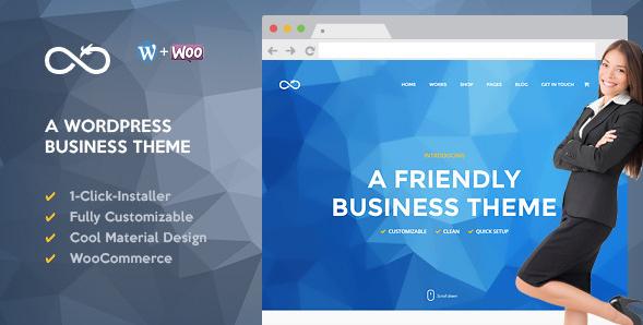 Dragon - Friendly WordPress Business Theme