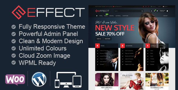 Effect - Multi-Purpose WooCommerce Store Theme
