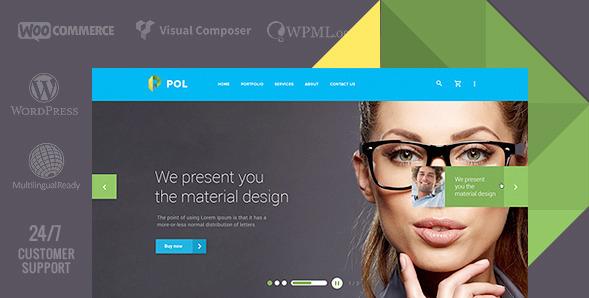 WordPress Material Design Themes