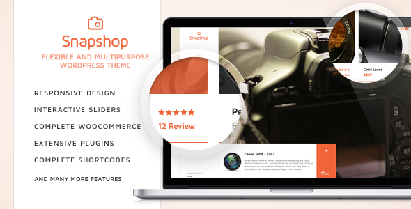 SnapShop - Woocommerce Theme For Gadget Shop