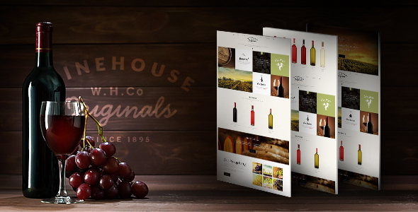 Wine House - Winery & Restaurant Theme