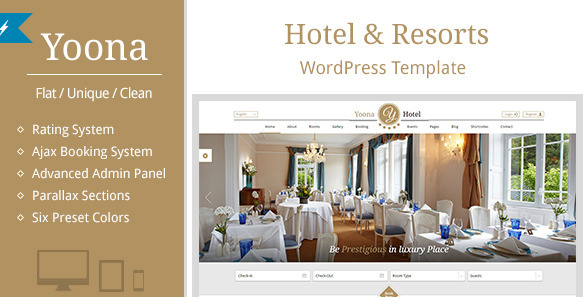 Hotel Booking Themes for WordPress