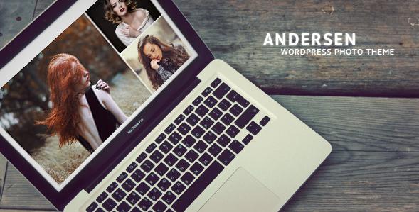 Andersen - Fullscreen WordPress Photography Theme