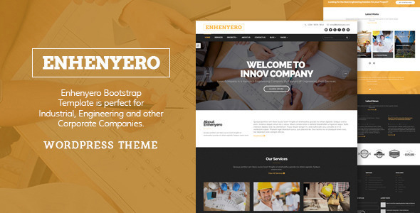 Enhenyero - Industrial Themes for WordPress