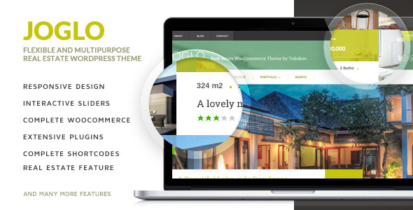 Joglo - Woocommerce Real Estate WordPress Theme