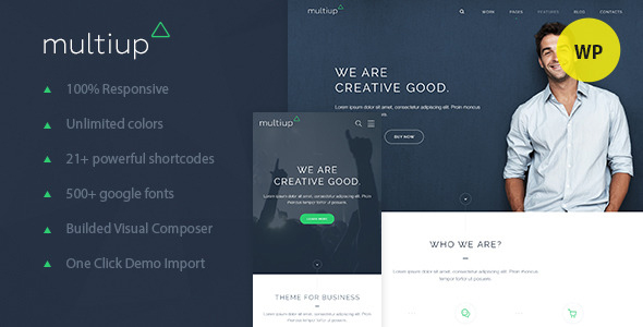 MultiUp - Multi Purpose WordPress Theme