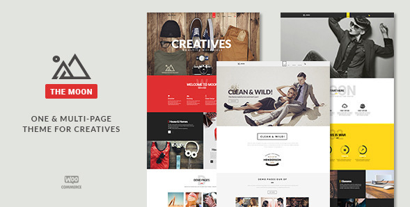 The Moon - One Page Multi-Purpose Theme
