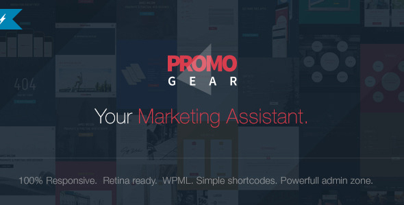 PromoGear - Creative One Page Multipurpose Theme