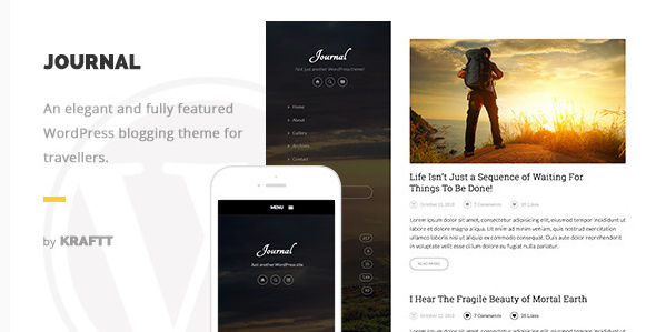 Journal - Responsive WordPress Blog Theme