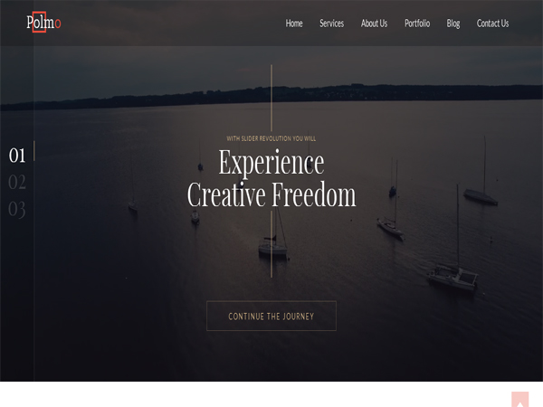 9 Awesome Free Parallax WordPress Themes 2016 - WPFriendship