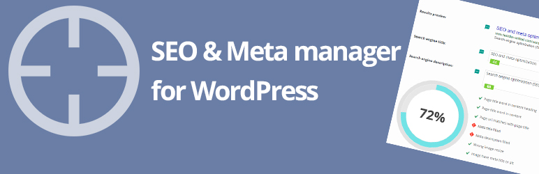 WP Meta SEO - SEO WordPress plugins