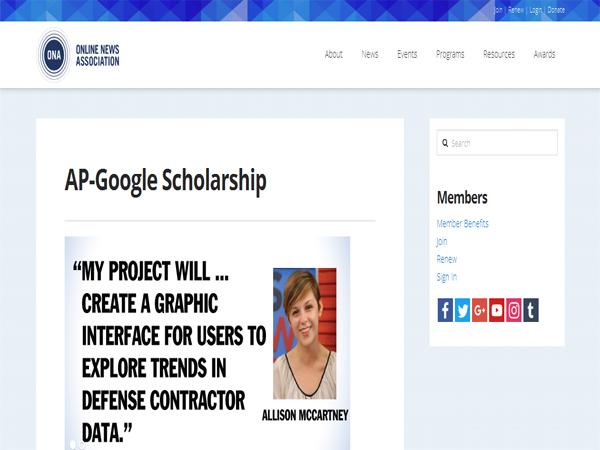 AP-Google Scholarship