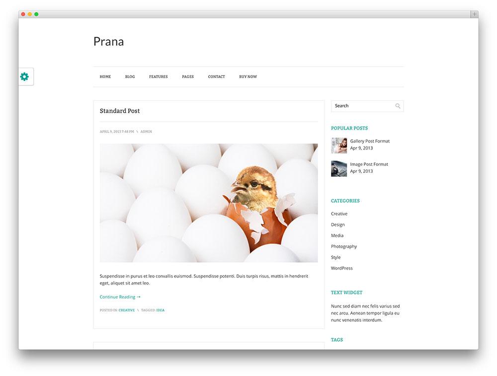 7 Beautifully Simple Blog Designs - WPFriendship
